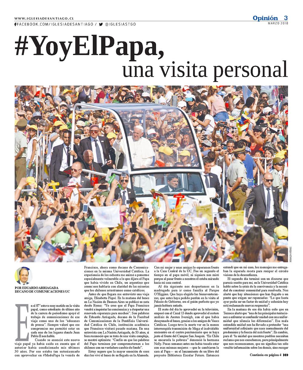 Periódico Encuentro con la Iglesia de Santiago